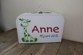 Koffertje giraffe 30 cm
