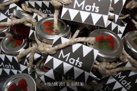 Bedankjes Mats
