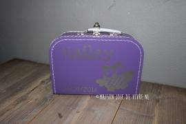 Koffertje uiltje 30 cm