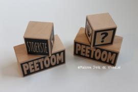 Stapelblok Peetoom of Peettante