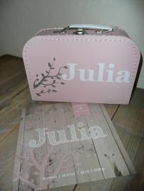 Koffertje ontwerp op  maat