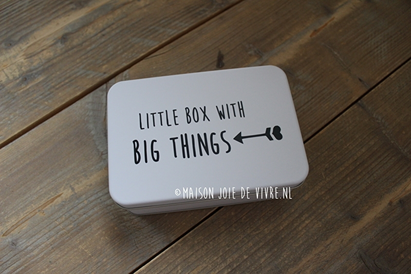 Little box with big things