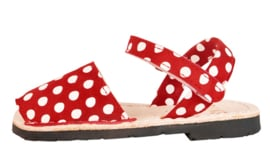 502N Red and white pois