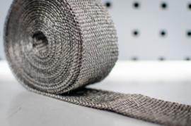 Hitteband heatwrap 5 meter keramisch ZWART