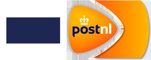 Wij verzenden met postNL!
