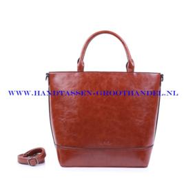 N38 Handtas Ines Delaure 1682260 camel