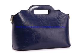N35 Handtas Ines Delaure 168018 blauw