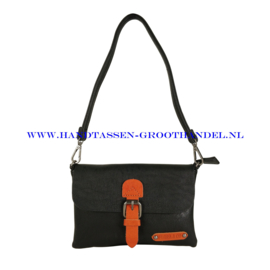 N23 Handtas Flora & Co h6756 zwart