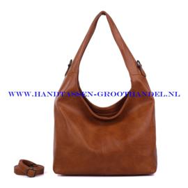 N72 Handtas Qischa 1682387a moutarde (camel - bruin)