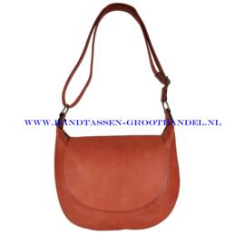 N32 Handtas Flora & Co 6723 brique (rood - camel)