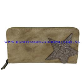 N18 portemonnee Mandoline 301 groen