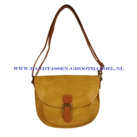 N97 Handtas Flora & Co 6769 moutarde (geel)