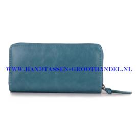 N60 portemonnee Ines Delaure B002 azur (groen - blauw)