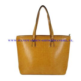 N73 Handtas Flora & Co 8013 moutarde (mosterd - geel)