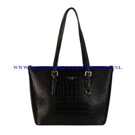 N40 Handtas Flora & Co 9530 zwart