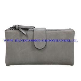 N18 portemonnee Ines Delaure E011 souris (grijs)