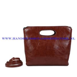 N38 Handtas Ines Delaure 1682627 camel