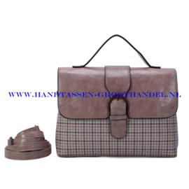 N39 Handtas Ines Delaure 1682801 blush (roze)