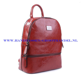 N38 Handtas Ines Delaure 1682018 brique (rood - camel)