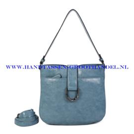 N117 Handtas Ines Delaure 1682697 turquin (blauw)