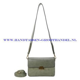 N36 Handtas Ines Delaure 1682665 amande (groen)