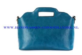 N35 Handtas Ines Delaure 168018 petrole (petrolium - blauw)