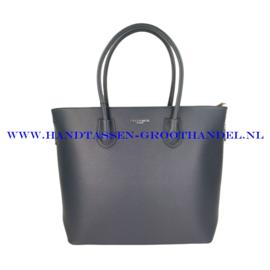 N76 Handtas Flora & Co 9246 blauw