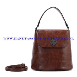 N28 Handtas Ines Delaure 1682348 choco (bruin)