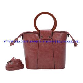 N107 Handtas Ines Delaure 1682507 bois du rose (roze)