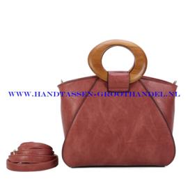 N107 Handtas Ines Delaure 1682209m bois de rose (roze)