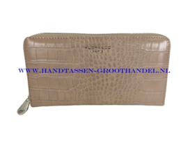 N20 portemonnee Flora & Co 2701 beige taupe