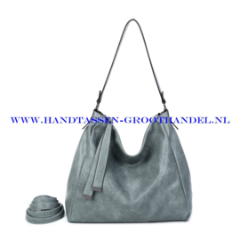 N39 Handtas Ines Delaure 1682868 gris sauge (grijs)
