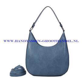 N117 Handtas Ines Delaure 1682789 bleu horizon (blauw)