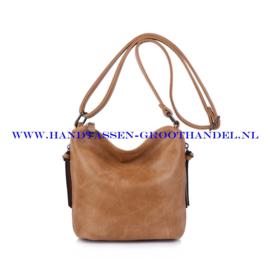 N27 Handtas Ines Delaure 1682059 iced coffee (bruin - camel)