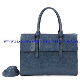 N41 Handtas Ines Delaure 1682781 bleu horizon (blauw)