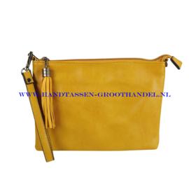 N12 Handtas Flora & Co 8041 moutarde (mosterd - geel)