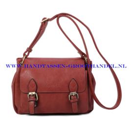 N103 Handtas Ines Delaure 1682760 brique (camel-bruin-rood)