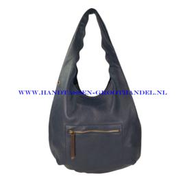 N38 Handtas Flora & Co 9905 blauw