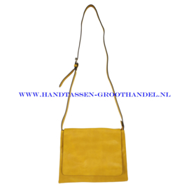 N91 Handtas Flora & Co 7965 moutarde (geel)