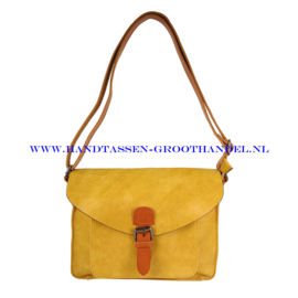 N115 Handtas Flora & Co 6711 moutarde (geel)