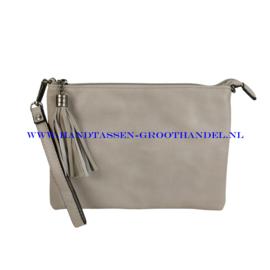 N12 Handtas Flora & Co 8041 gris claire (grijs)