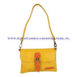 N23 Handtas Flora & Co h6756 moutarde (geel)