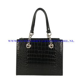 N36 Handtas Flora & Co 9537 zwart