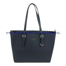 N39 Handtas Flora & Co F9126 blauw