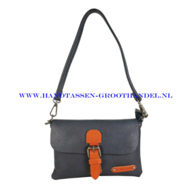 N23 Handtas Flora & Co h6756 blauw
