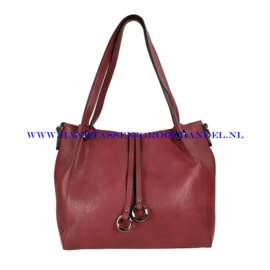 N113 Handtas Flora & Co 5679 bordeaux