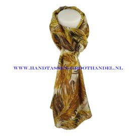N5 sjaal ENEC-822 turmeric (oker - bruin)