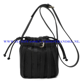 N35 Handtas Ines Delaure 1682396 zwart