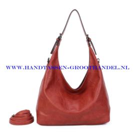 N39 Handtas Ines Delaure 1682832 brique (bruin - rood)