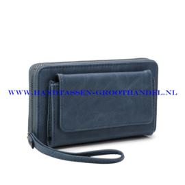 N21 portemonnee Ines Delaure E019 bleu horizon